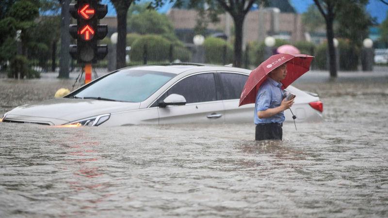 Չինաստանի Հենան նահանգում ջրհեղեղի զոհերի թիվը հասել է 33 -ի