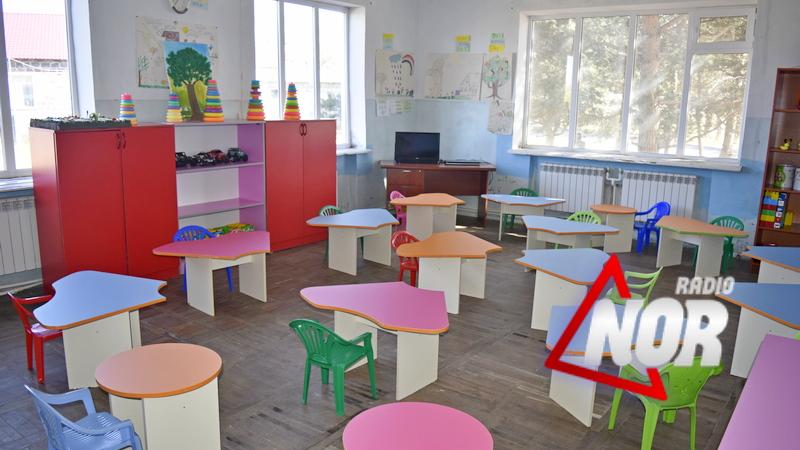 Детские садики Ниноцминдского муниципалитета возобновили работу