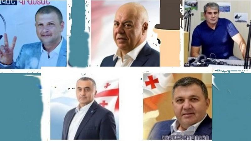 Результаты опроса кандидатов в мажоритарные депутаты
