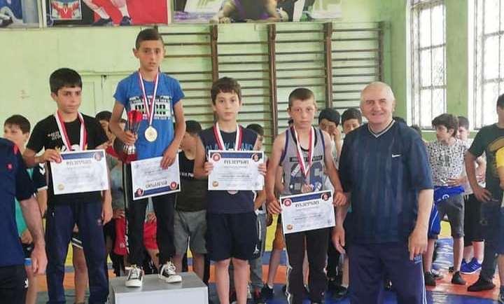 Очередная победа спортсменов из села Гандза