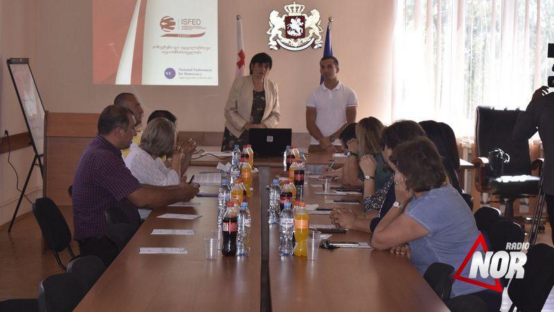 Тренинг о Правах и обязанностях органов местного самоуправления и государственных служащих в период предвыборной агитации