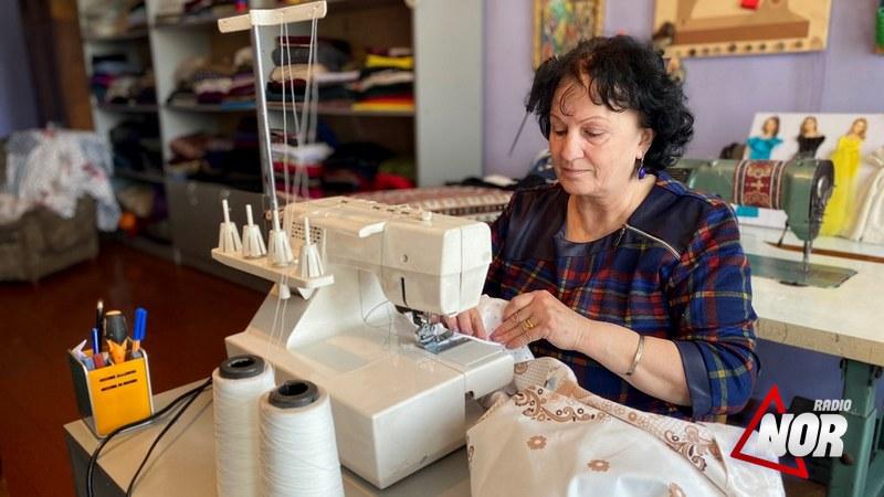 Швейный бизнес учительницы грузинского языка