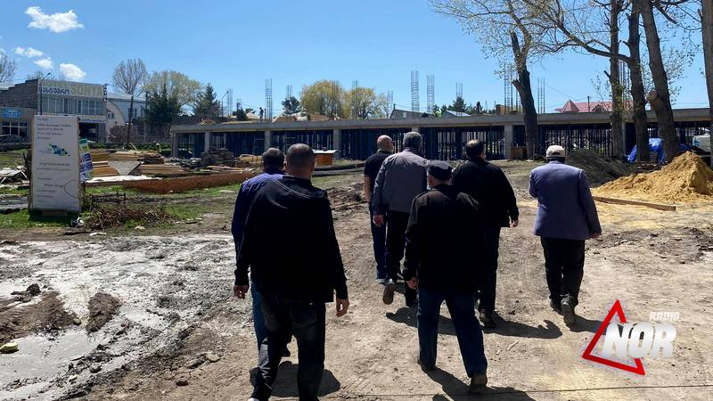 Продолжается строительство №1 школы города Ниноцминда