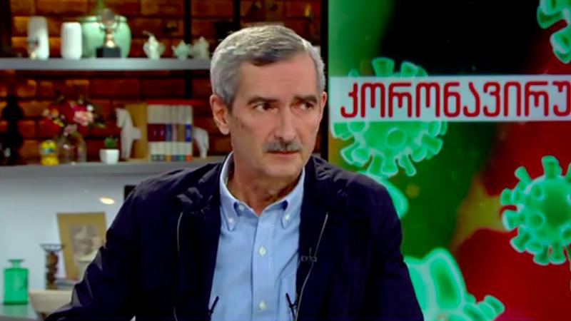 Имнадзе: «В Грузии зафиксированы случаи заражения штаммом Delta+»