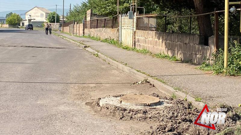 Восстановлен колодец на улице Овсепяна
