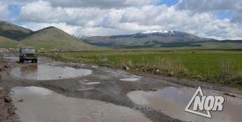 Проблема дорог и воды в селе Тория Ниноцминдского муниципалитета.