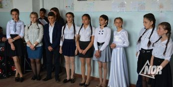 Видео: Школа №3 отметила день государственного языка