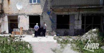 Видео: Взрыв газа в Ахалкалаки зафиксировала камера видео наблюдения
