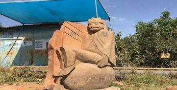 Видео: Скульптура Гургена Царукяна вошла в 11 из лучших скульптур в селе Дсех в Армении