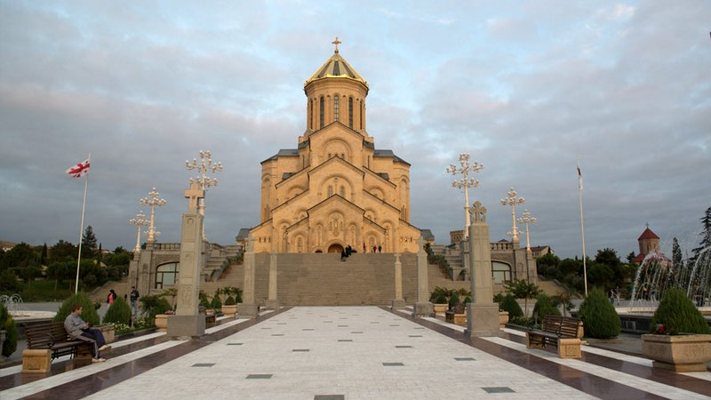 В Грузии отмечают день памяти апостола Андрея Первозванного