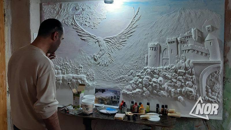 Родион Тумасян. Талантливый художник/ видео