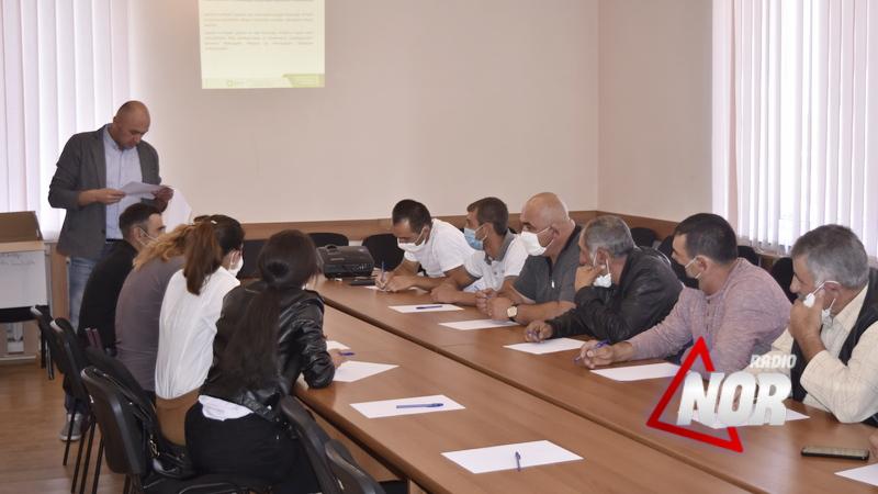 Тренинги для членов участковых избирательных комиссий в Ниноцминде