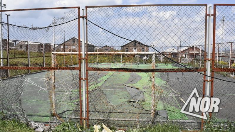 Мини-стадион города Ниноцминда части Ходжабек будет отремонтирован