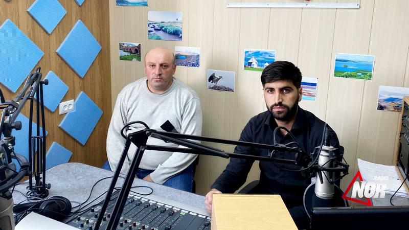 Гость радио НОР – бизнесмен Гагик Овсепян
