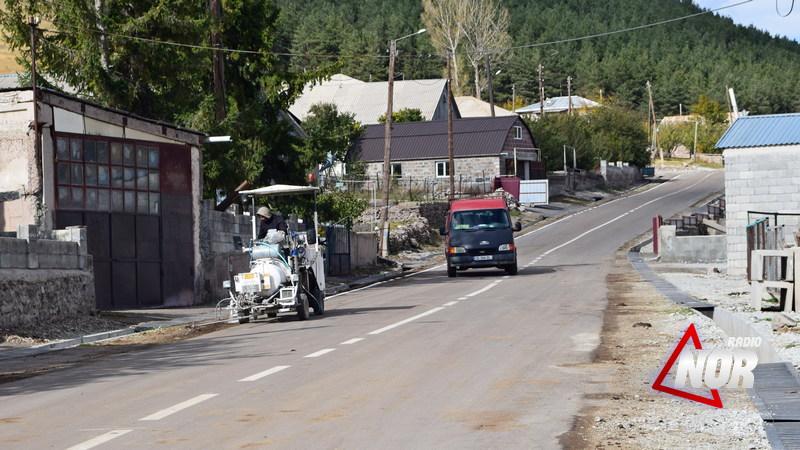 На дороге Ахалцихе-Ахалкалаки начались ремонтные работы