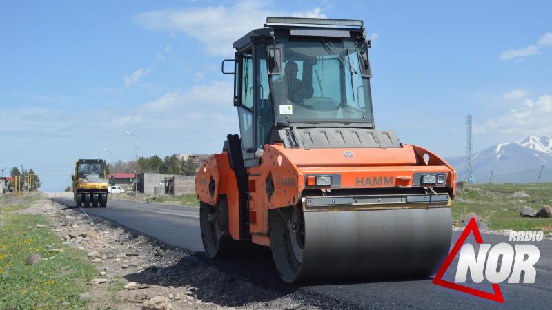 Նինոծմինդայի 9 փողոցներ կասֆալտապատվեն