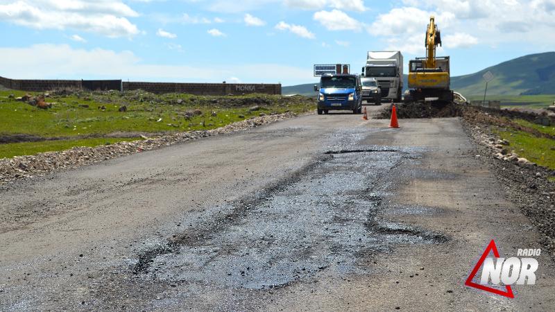 Объявлен тендер на ямочный ремонт дорог в городе Ниноцминда