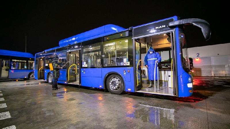 Официальные автобусные перевозчики аэропорта Кутаиси будут бесплатно обслуживать пассажиров с 21:00 до 5:00