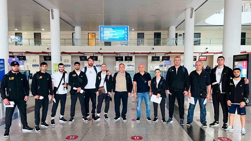 Боксеры из Ахалкалаки отправились на чемпионат Европы