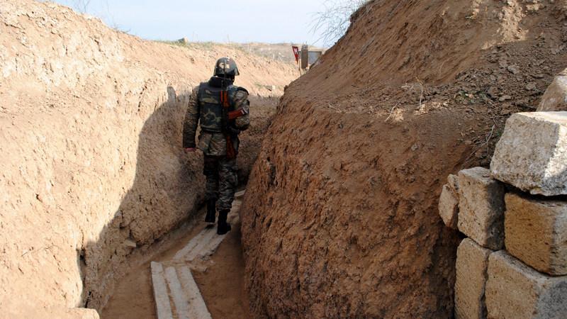 Ранен армянский военный в Карабахе, Баку это опровергает