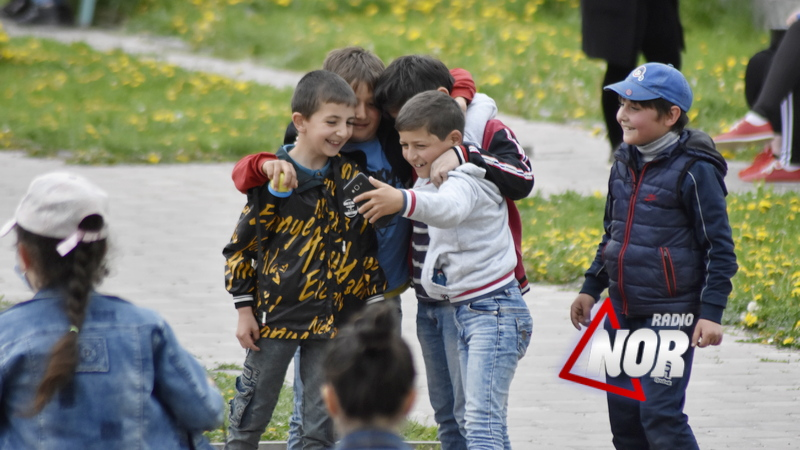 Отдых с детьми в День защиты детей/ фото