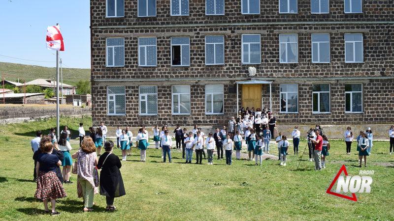 Представители Министерства образования и науки Грузии посетили школу№1 села Эштия