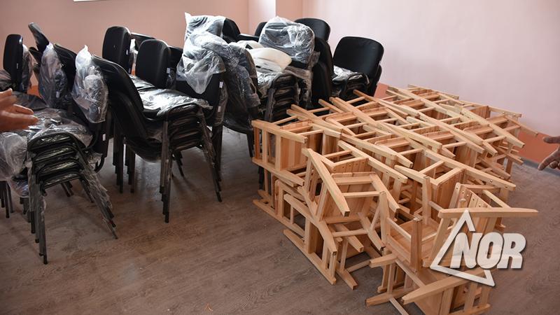Վերանորոգում և գույքի   ձեռք բերում ծիսական տների համար