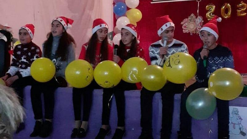 Новогоднее мероприятие в селе Ждановакан