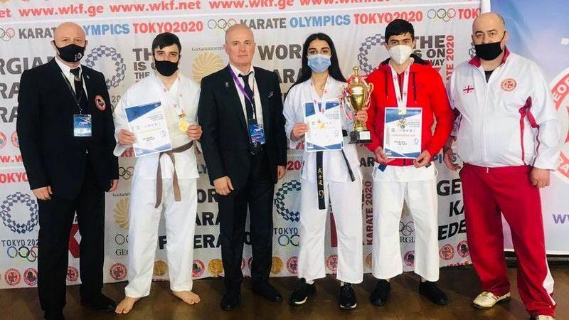 Спортсмены из Ахалкалаки стали чемпионами Грузии по каратэ