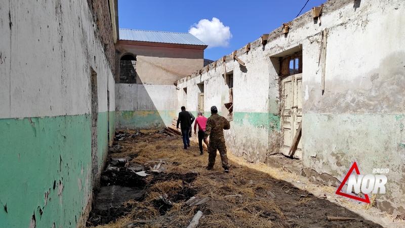 Начался ремонт Дома культуры села Эштия