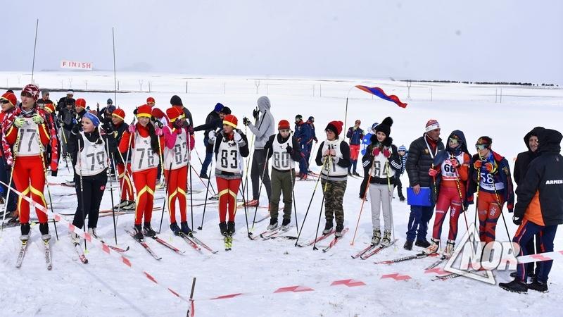 В городе Ниноцминда состоялся турнир по лыжным гонкам