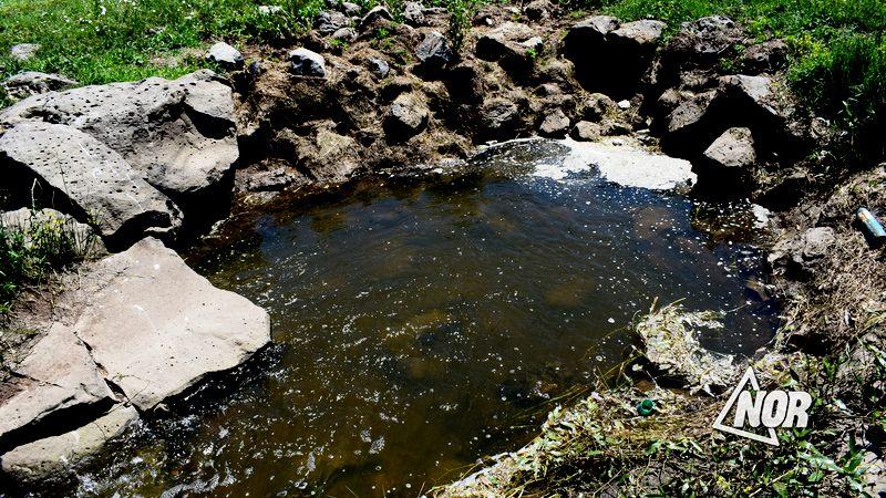 Загадочная подземная яма в озере Мадатапа