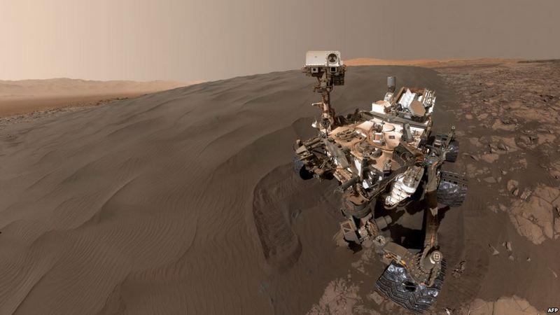 НАСА обнародовало захватывающие видеокадры посадки нового марсохода на поверхность Красной планеты