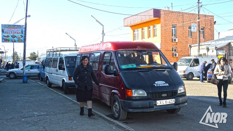 Маршрутка Ниноцминда – Ахалцихе и Ниноцминда – Тбилиси работает в обычном режиме