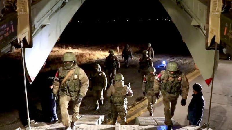 Еще одна группа российских военнослужащих готовится к отправке в Карабах
