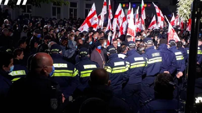 Выборы 2021: в Грузии на фоне акций протеста продолжается пересчет голосов