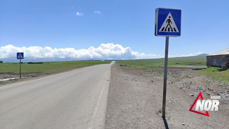Отремонтированы дорожные знаки возле сел Гореловка и Ефремовка.