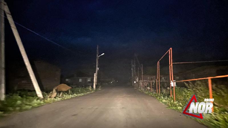 """Часть города Ниноцминда """"Норашен"""" осталась без ночного освещения"""