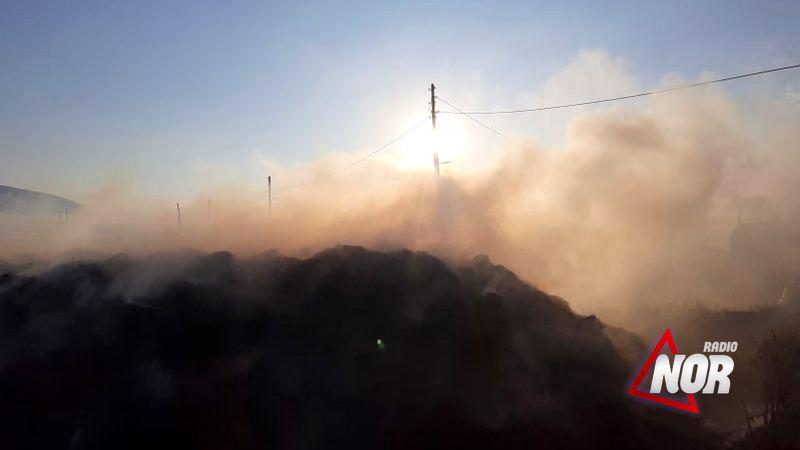 В селе Ждановакан сгорело 8 тонн сена