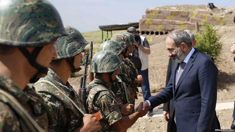 Генеральный штаб ВС Армении потребовал отставки Никола Пашиняна