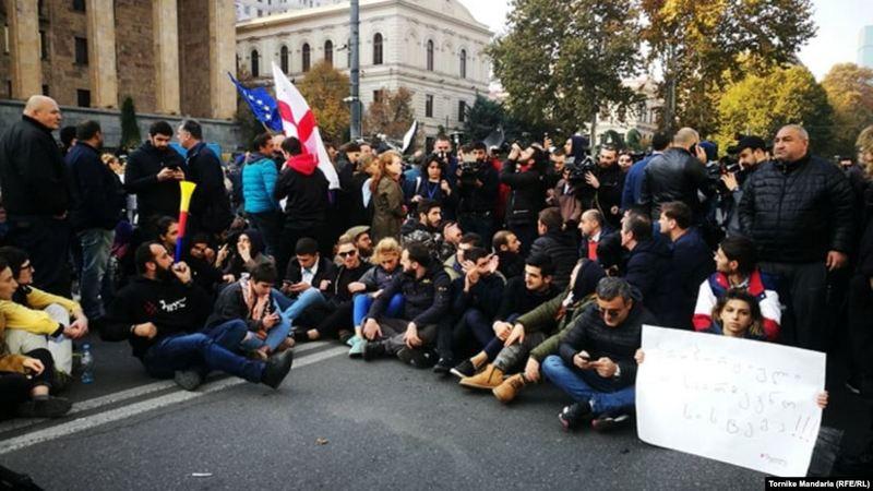 Оппозиция озвучила план акций протеста