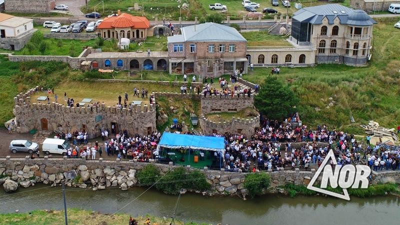 Открытие этнографического музея в селе Сатха/видео /фото