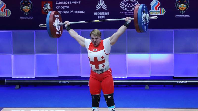 Еще одно золото на ЧЕ по тяжелой атлетике завоевала Анастасия Готфрид для сборной Грузии