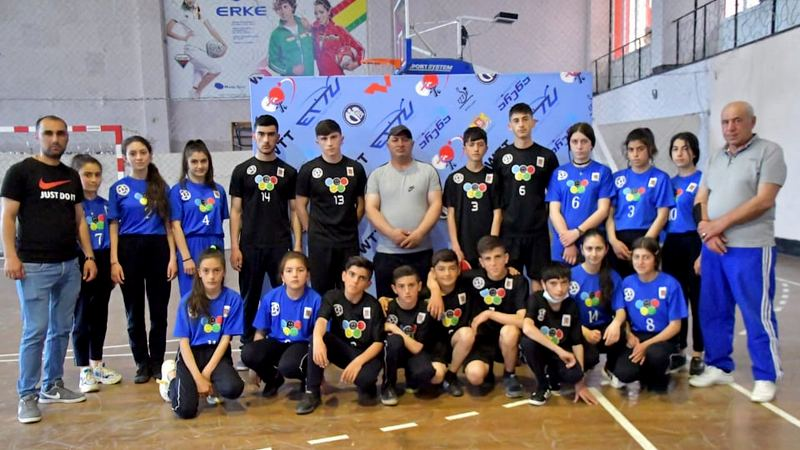 Команда Ниноцминда по настольному теннису вернулась из Тбилиси