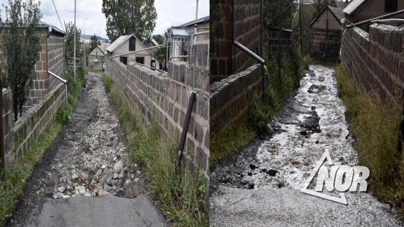 Объявлен тендер на строительство водоотводных каналов в городе Ниноцминда